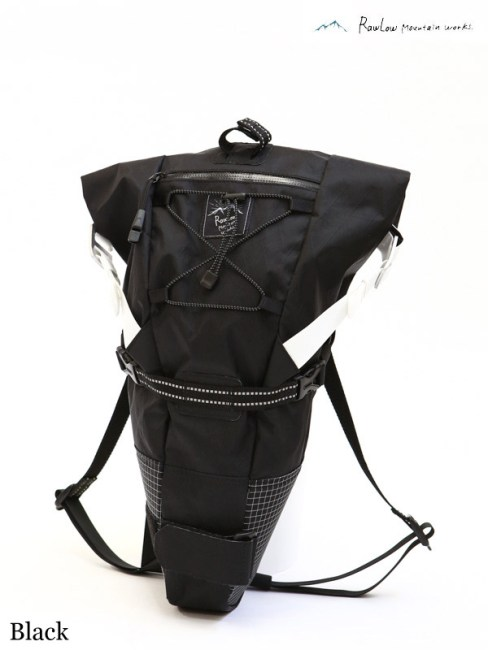 RawLow Mountain Works,ロウロウマウンテンワークス,Bike'n Hike Bag #Black,バイクンハイクバッグ ブラック