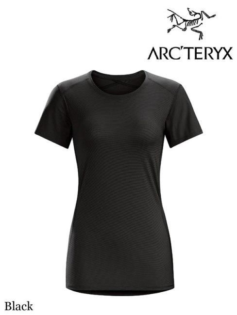 ARC'TERYX,アークテリクス ,フェイズ SL クルー SS ウィメンズ (レディース),Women's Phase SL Crew SS #Black