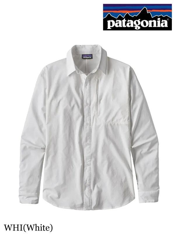 patagonia,パタゴニア ,Men's LS Skiddore Shirt #WHI,メンズ・ロングスリーブ・スキッドア・シャツ