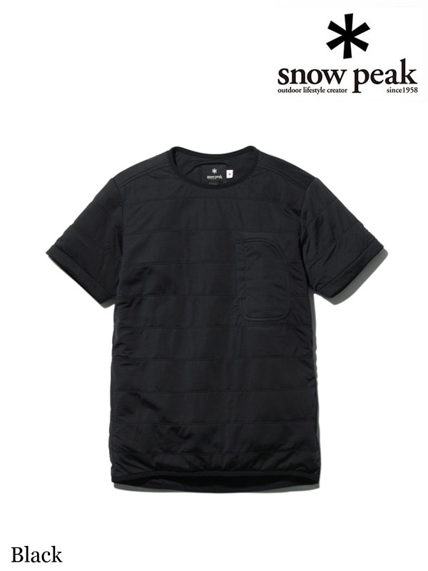 snow peak,スノーピーク,Flexible Insulated Half Sleeve #Black ,フレキシブルインサレーションハーフスリーブ #ブラック