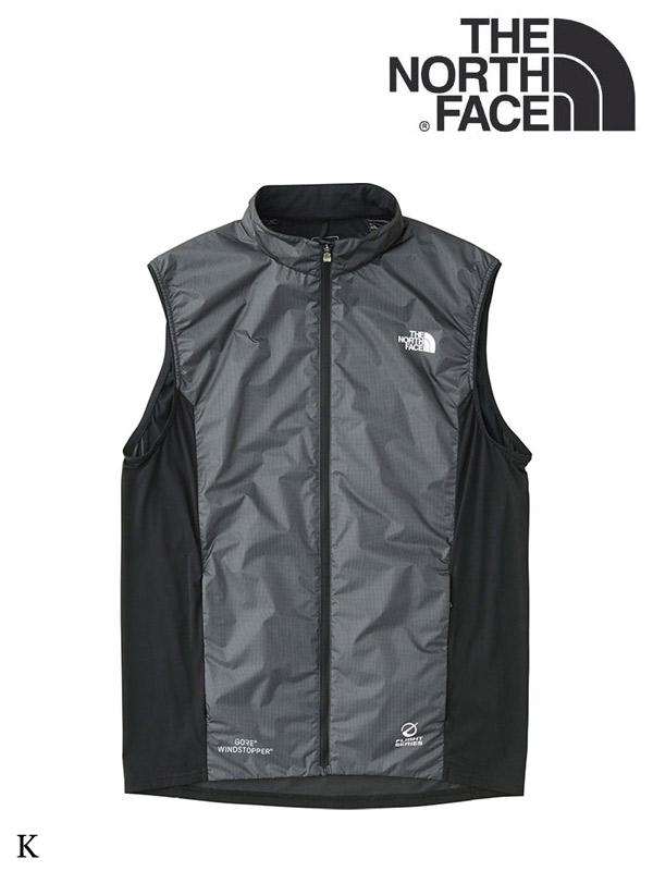 THE NORTH FACE,ノースフェイス,WS White Running Vest #K,ウインドストッパーホワイトランニングベスト(メンズ)