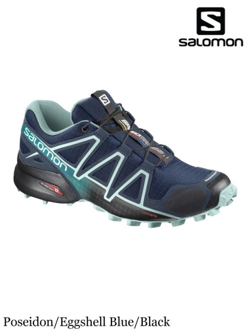 SALOMON,サロモン,SPEEDCROSS 4 Women #Poseidon/Eggshell Blue/Black ,スピードクロス4 レディース