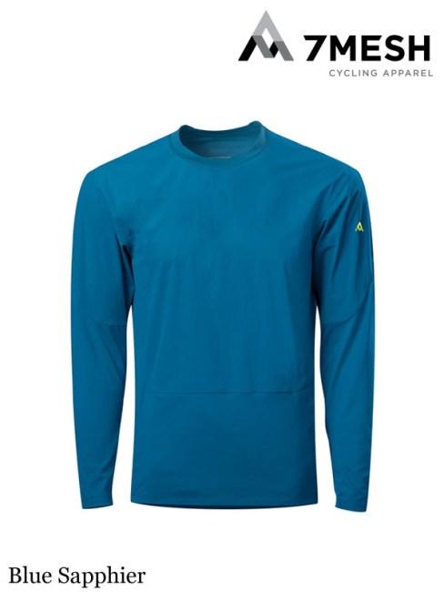 7mesh,COMPOUND SHIRT LS MEN'S #Blue Sapphier ,セブンメッシュ,コンパウンドシャツ LS メンズ