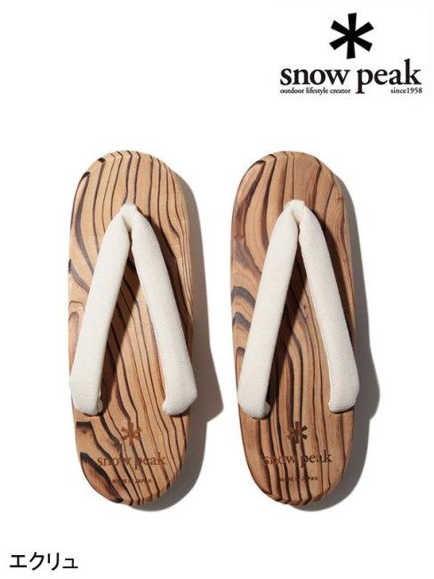 snow peak , スノーピーク,Ladies HITA Geta #1 #エクリュ,ウィメンズ 日田下駄 #1