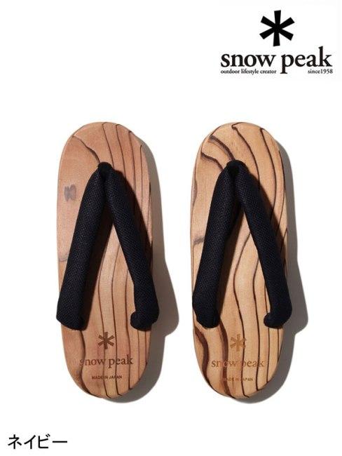 snow peak,スノーピーク ,Ladies HITA Geta #1 #ネイビー ,ウィメンズ 日田下駄 #1