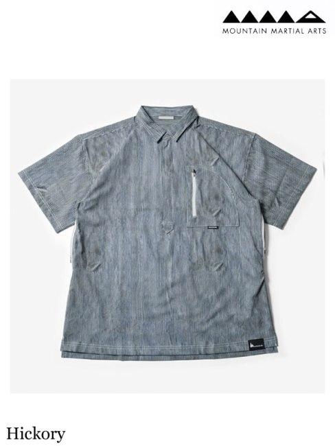 MMA , マウンテンマーシャルアーツ ,MMA×huntstored. Pull Over Mountain Shirts #Hickory ,MMA×huntstored. プルオーバー マウンテンシャツ