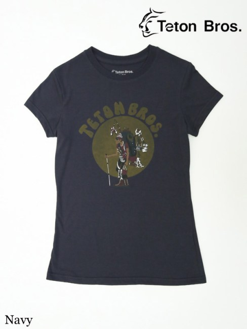 Teton Bros.,ティートンブロス,WS TB Hiker 18 Tee (Women) #Navy , TB ハイカー 18ティー(レディース)