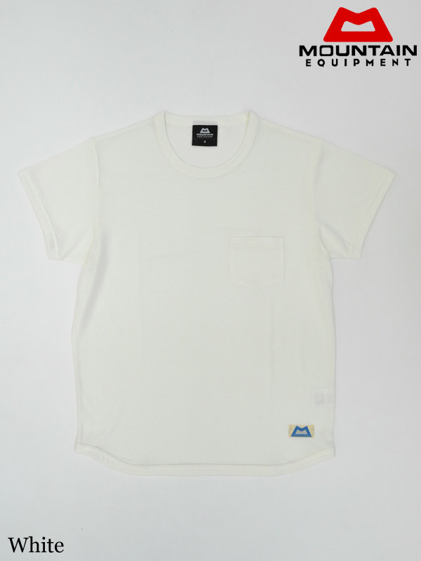 MOUNTAIN EQUIPMENT(Special Make UP Collection),QD Pocket Tee #White ,マウンテンイクィップメント,QDポケットティー