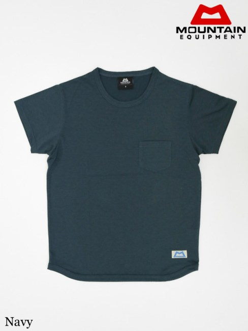 MOUNTAIN EQUIPMENT(Special Make UP Collection),QD Pocket Tee #Navy ,マウンテンイクィップメント,QDポケットティー