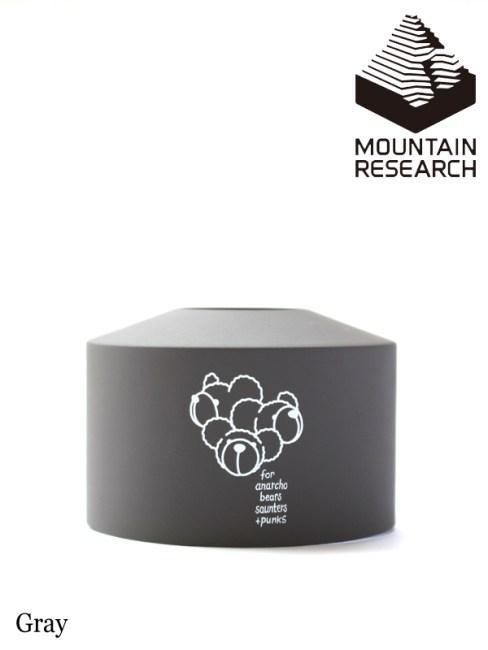 Mountain Research,マウンテンリサーチ ,Cartridge Jacket (Medium) クマリース #Gray ,カートリッジ ジャケット ミディアム #クマリース