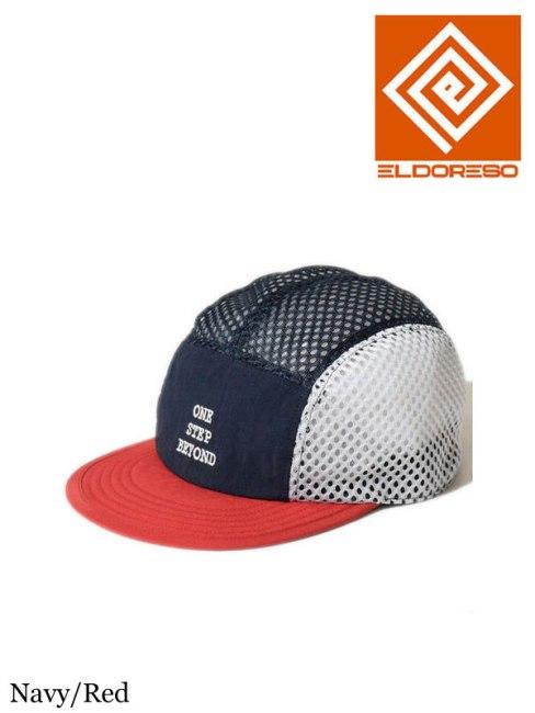 ELDORESO,BEYOND MESH CAP #Navy×Red ,エルドレッソ,ビヨンド メッシュ キャップ