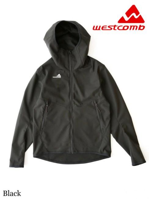 Westcomb,ウエストコム,Ascent Hoody #Black , アセント フーディー