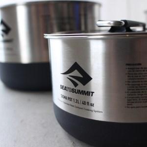 SEA TO SUMMITの美しく機能的な鍋たち