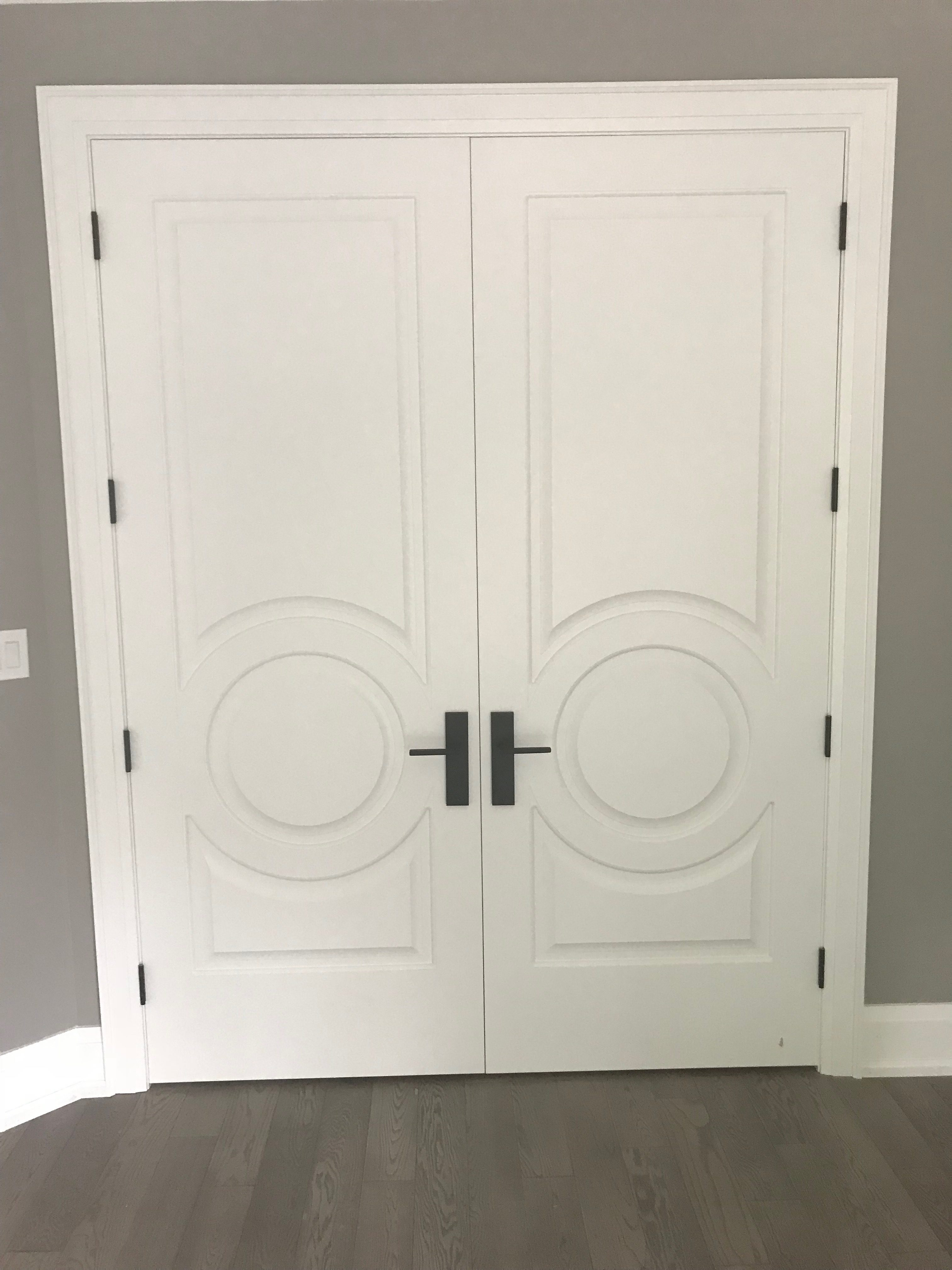 Traditional Interior French Style Double Door Modern Doors