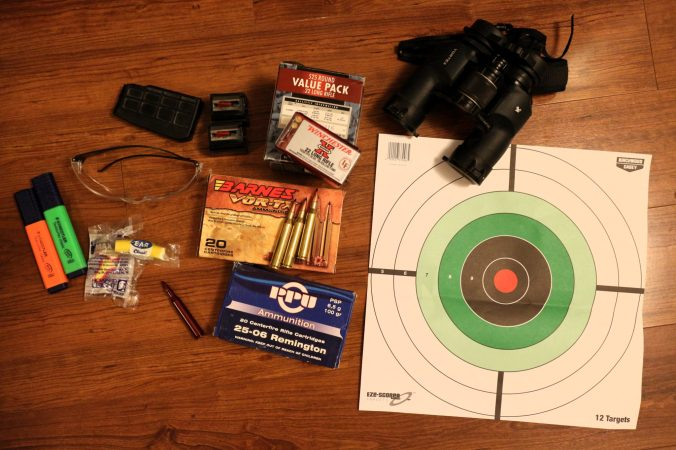 Some basic gear for your first trip to the shooting range