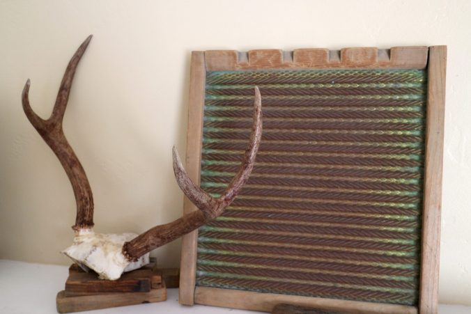 Antlers on Mantle