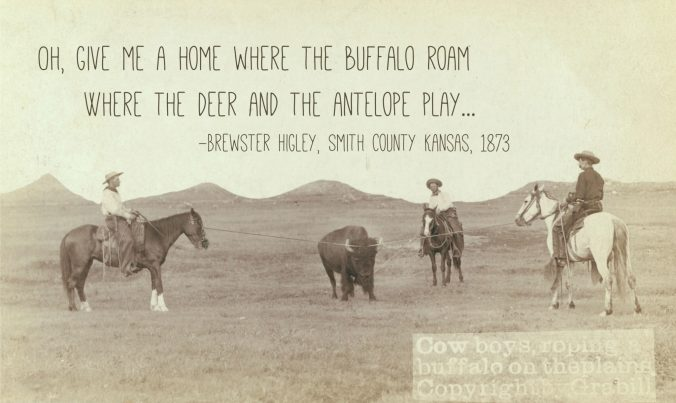 Thirty years after Home on the Range was written, buffalo, deer, and antelope were nearly gone from Kansas. Is hunting sustainable now?