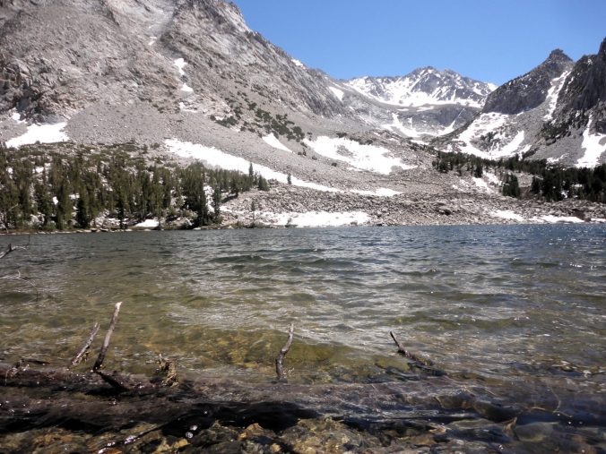 John Muir Wilderness Lake. Gun vs bow hunting for new hunters