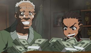 The Boondocks: Black Exploitation At Its Finest.