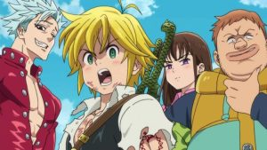 Anime Club: The Seven Deadly Sins