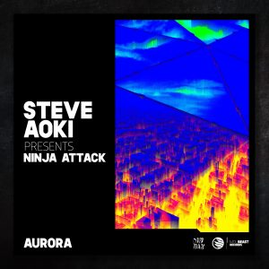 """Steve Aoki Announces New Ninja Attack Project, Debut Single """"Aurora"""" Drops on MDLBeast Records"""