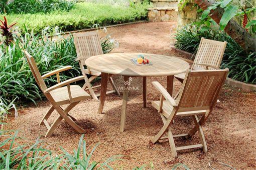 Collection-Wooden-Angela-Dining-Set Garden Teak Furniture