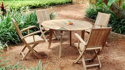 Collection-Wooden-Angela-Dining-Set Garden Teak Furniture