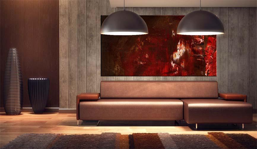 Art Wall Metal Room Living