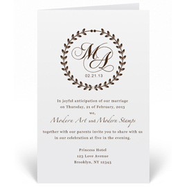 Wedding Rubber Stamps For Invitations Custom