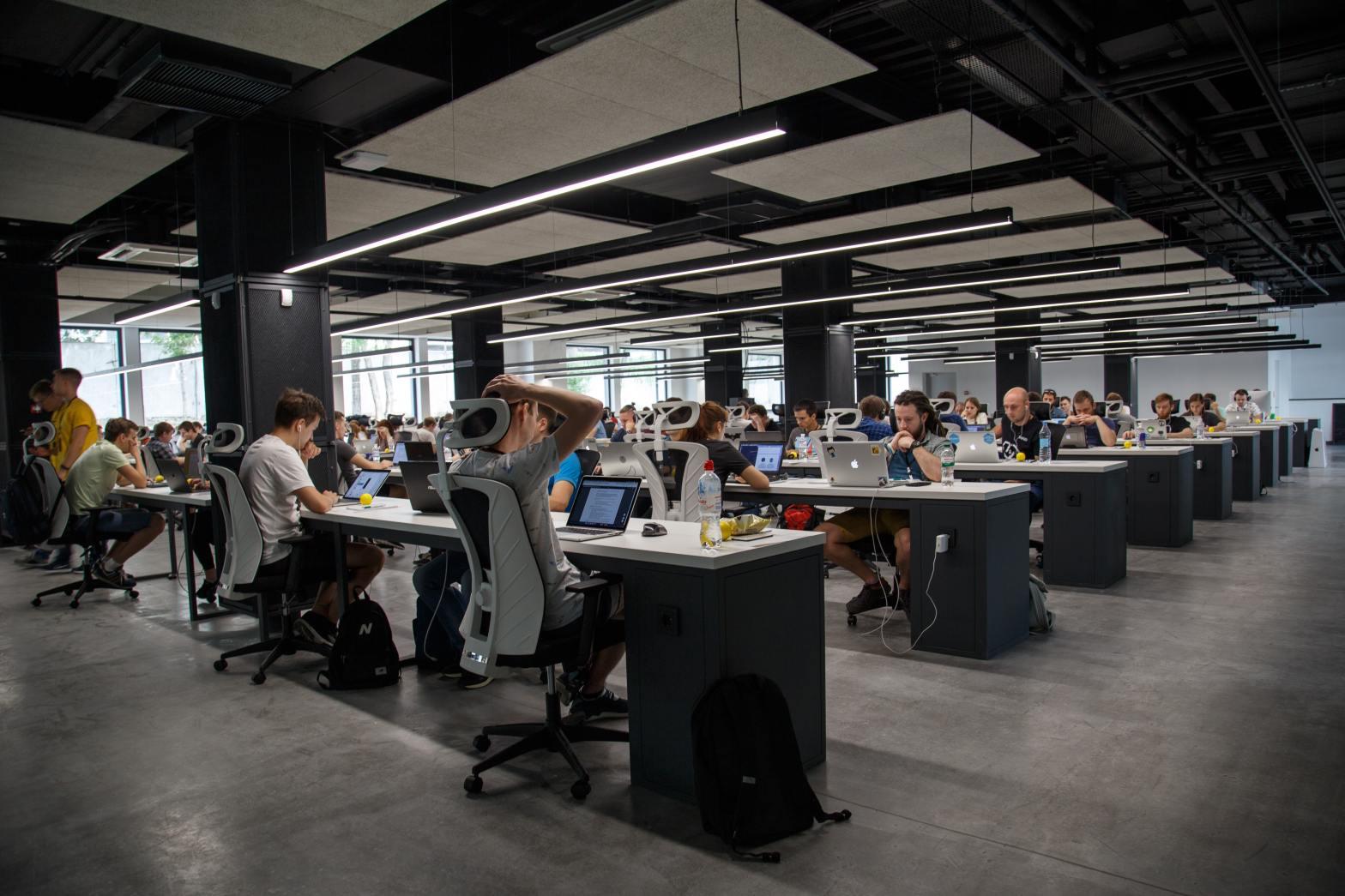 Bioethics work at desks