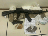 Weed, cocaine, guns and ammo