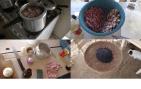How to make Feijoada - black beans, rice, pork, garlic and onion