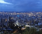Incredible view in Mirante, Mangabeiras of Belo Horizonte, Brazil