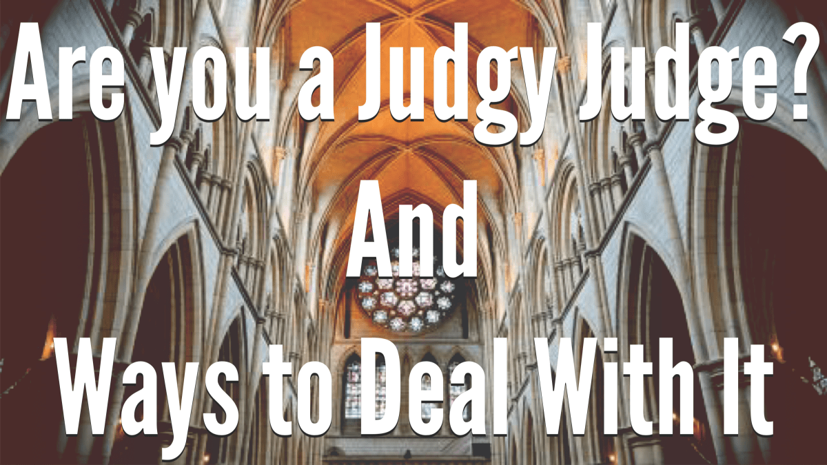 Are You a Judgy Judge? Part 1 - (How I Got There)