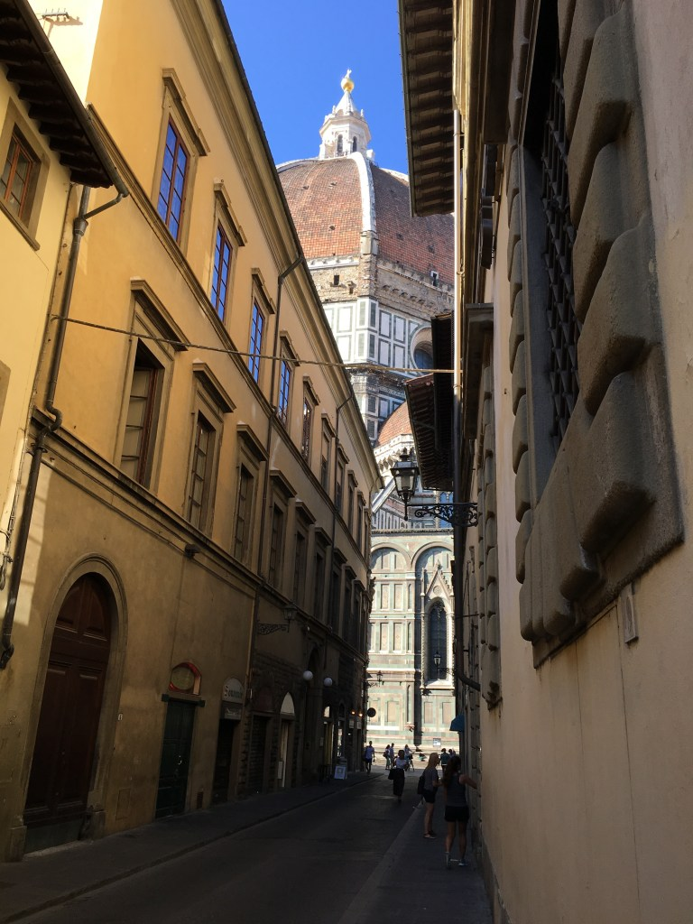 All roads lead to the Duomo.