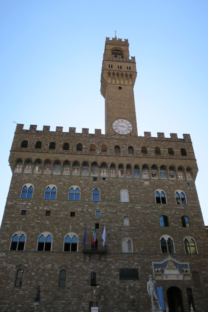 Palazzo Vecchio magical by day or night.