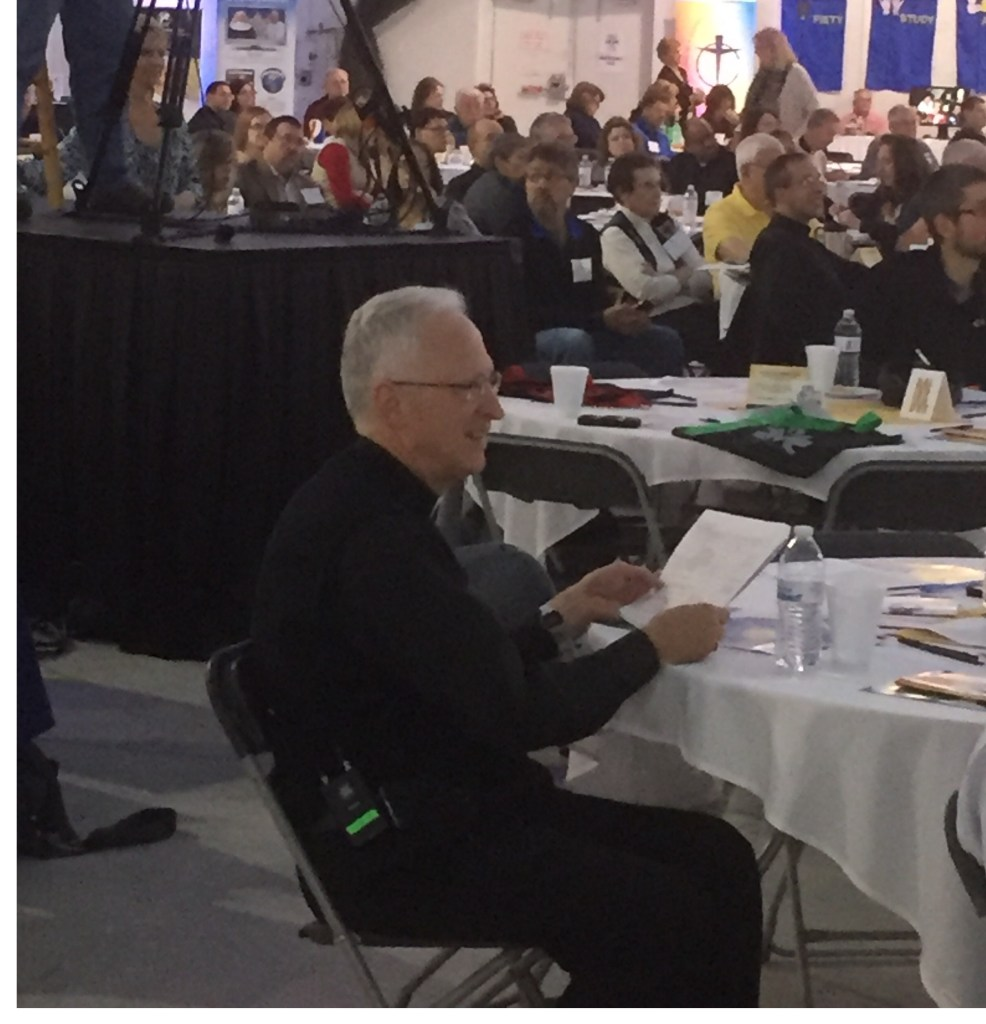 Bishop Boyea, one bishop trying his best to address the problems in his diocese.  Image courtesy Mike Jones, Ave Maria Radio.