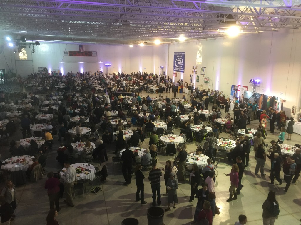 Almost 2,000 people gathered to learn how they can help to invite people back to the Church