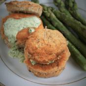 Keto burgery z łososia (Paleo, LowCarb)