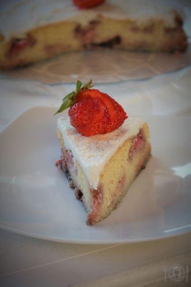 Keto ciasto owocowe
