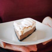 Keto French Silk Pie (Paleo, LowCarb, Vegan)