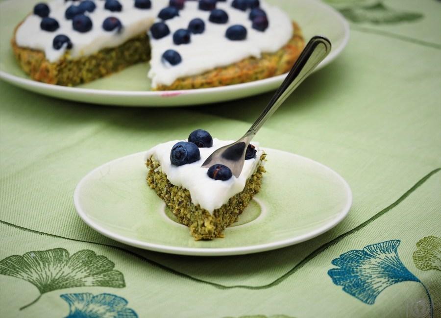 Keto Green Velvet Cake