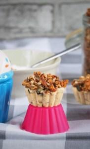 Keto muffiny z granolą (Paleo, LowCarb)