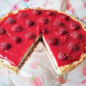 Keto tarta lamington (Paleo, LowCarb)