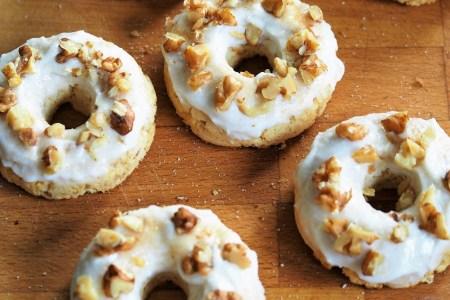 keto donuty dyniowe