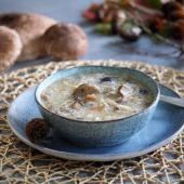 Keto zupa grzybowa (Paleo, LowCarb)