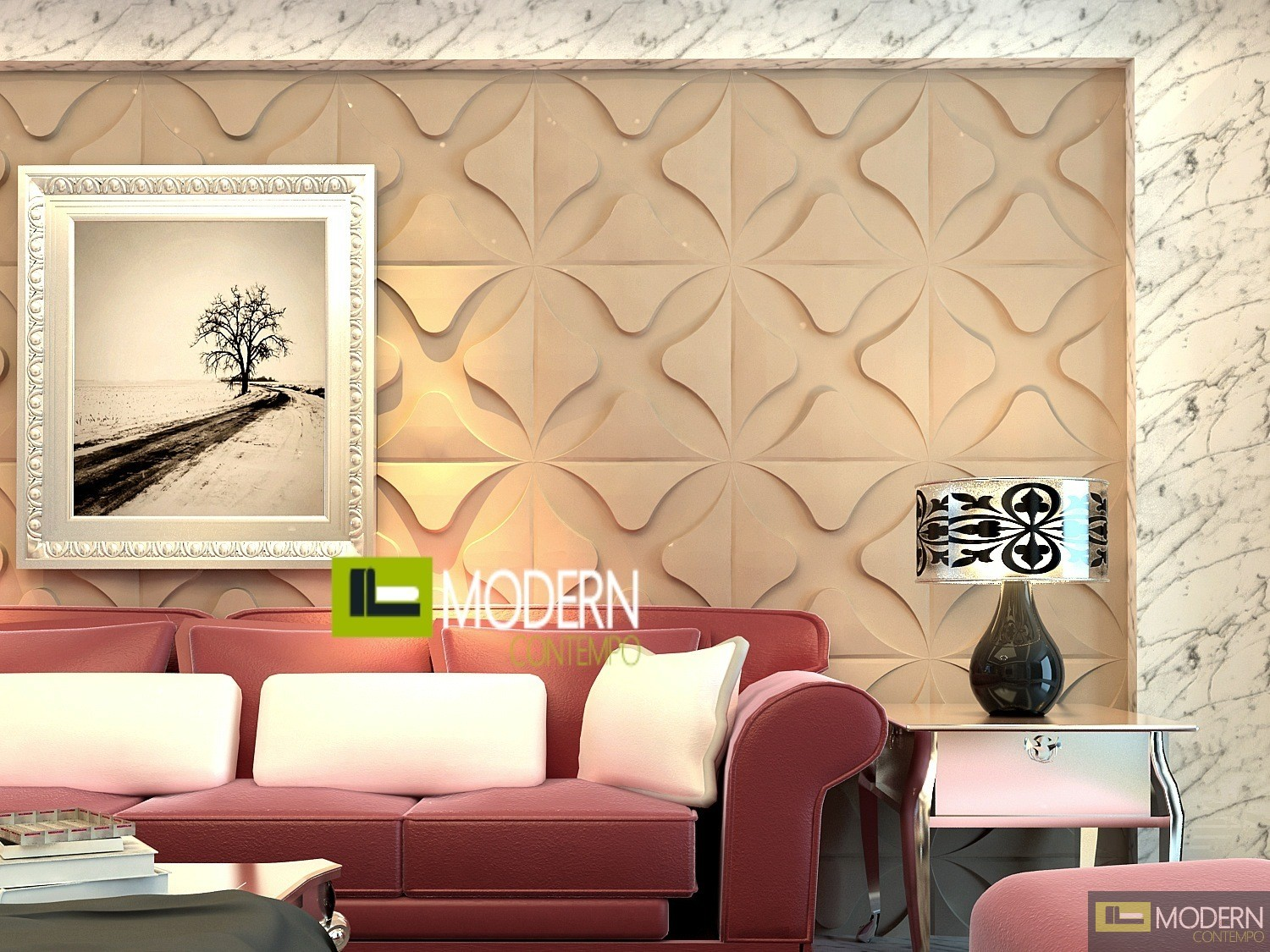 CLUB Exterior And Interior Glue On Wall 3d Surface Panel 12 Panels 3229 Sf