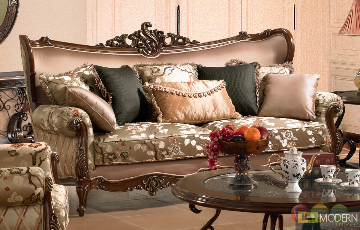 Wooden Carved Sofa Set Products
