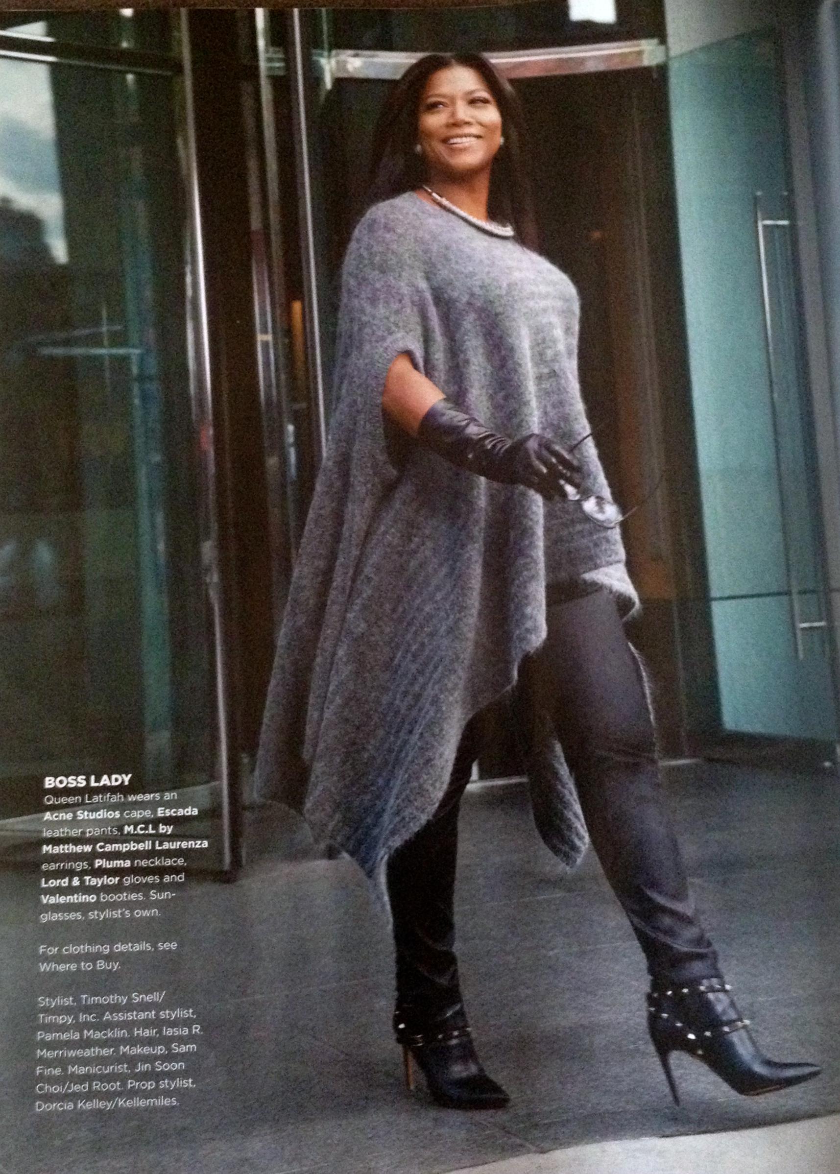 Queen Latifah Clothing