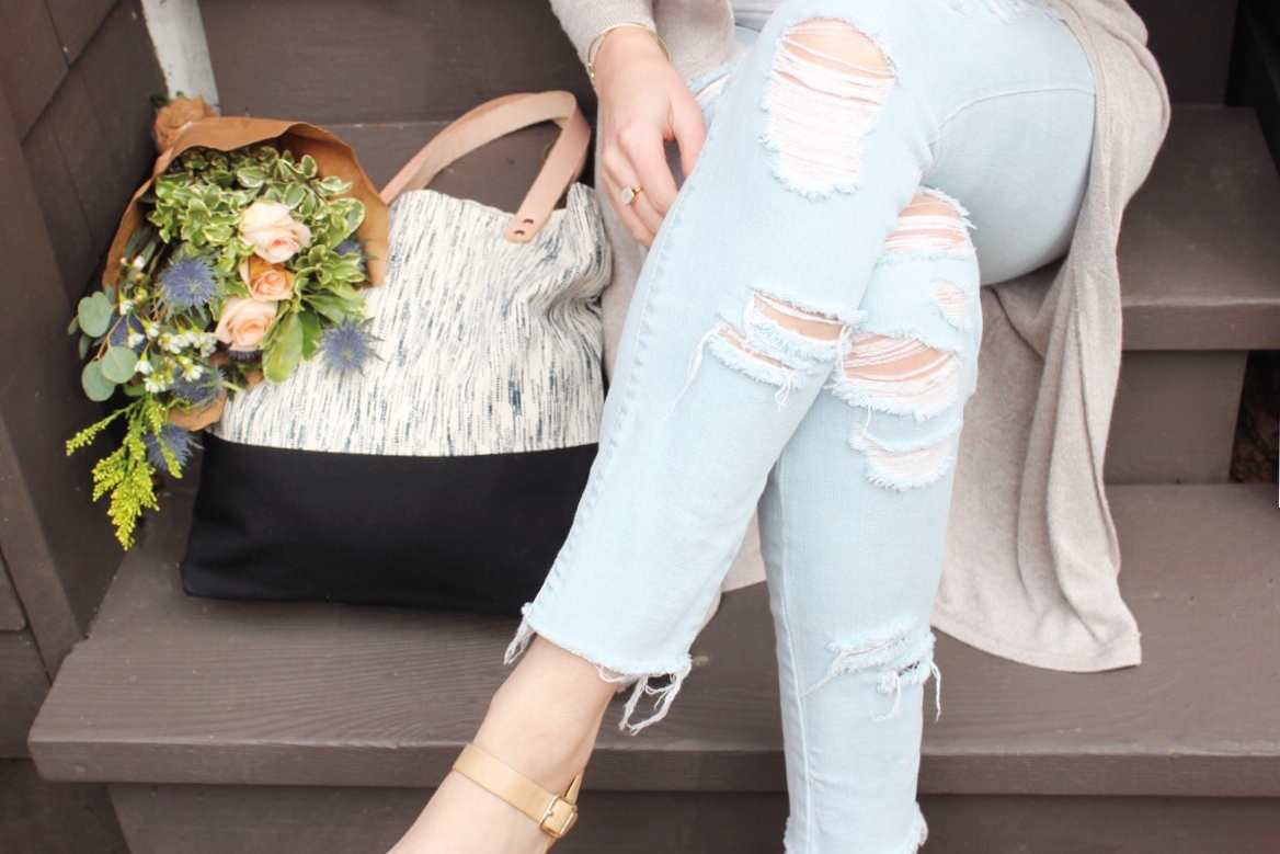 Ripped Jeans / Modern Daydream Living